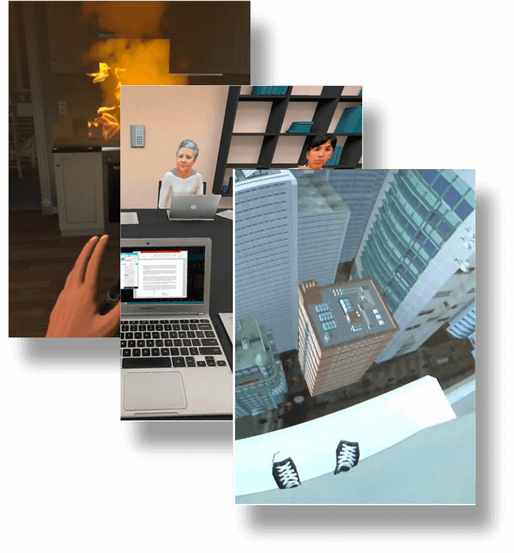 Психология и риски индивидума, возможности психодиагностики отклоняющегося поведения в VR