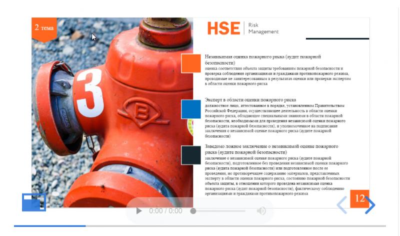 Пожарно-технический минимум для  рабочих, осуществляющих пожароопасные работы,